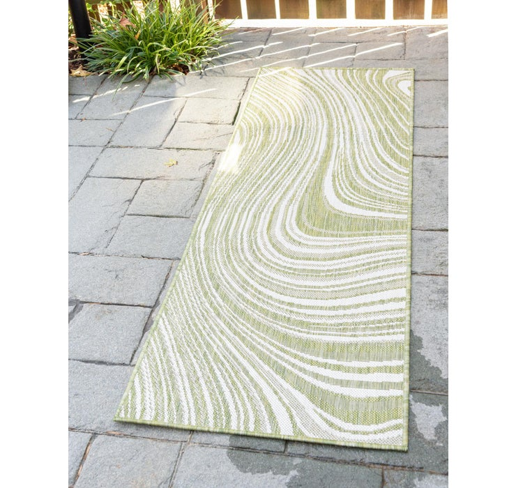 60cm x 183cm Outdoor Modern Runner Rug