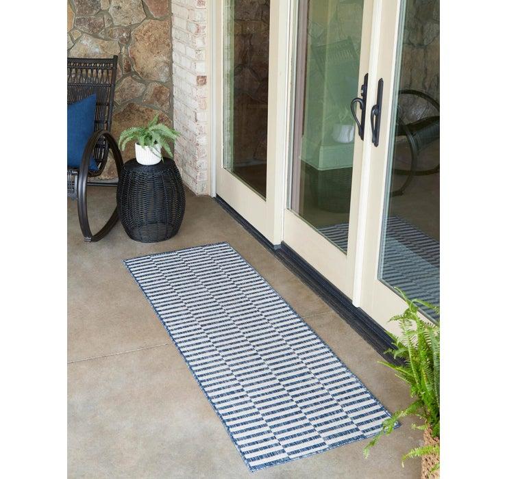 60cm x 183cm Outdoor Striped Runner ...