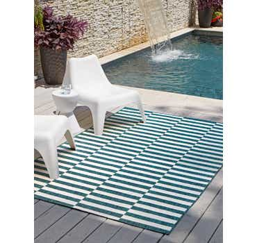 Image of  6' x 9' Outdoor Ribbon Rug