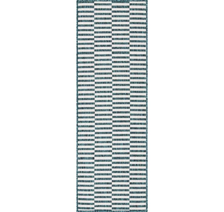 2' x 6' Outdoor Striped Runner ...