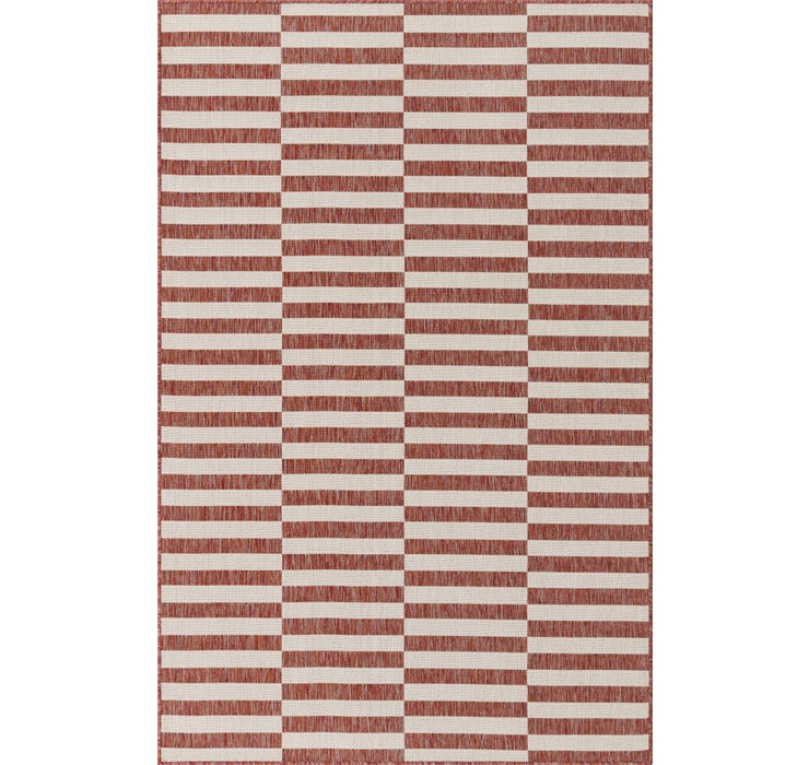 5' x 8' Outdoor Striped Rug