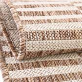 2' x 6' Outdoor Striped Runner Rug thumbnail
