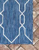 2' x 6' Outdoor Trellis Runner Rug thumbnail