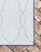 2' x 6' Outdoor Lattice Runner Rug thumbnail
