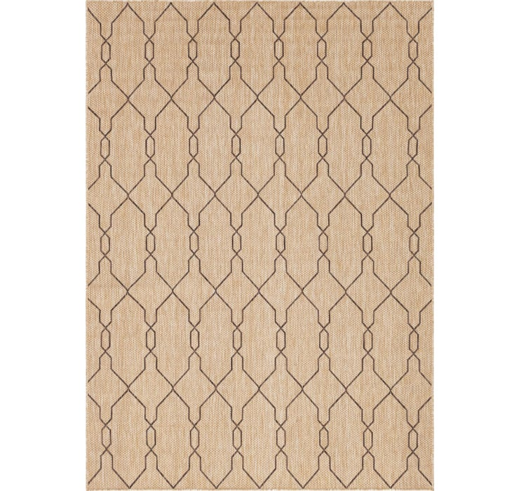 7' x 10' Outdoor Trellis Rug