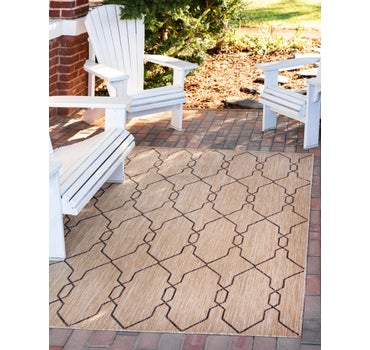 6' x 9' Outdoor Trellis Rug main image
