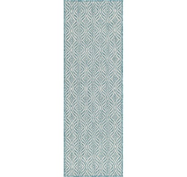 2' x 6' Outdoor Trellis Runner Rug main image