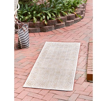 2' x 6' Outdoor Trellis Runner Rug main image