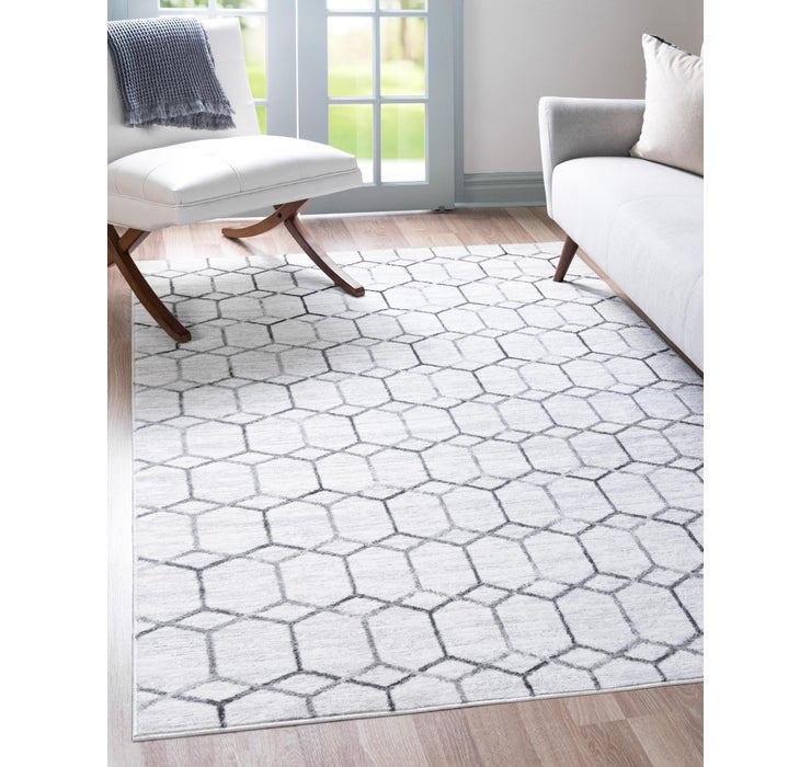 3' 3 x 5' 3 Lattice Trellis Rug