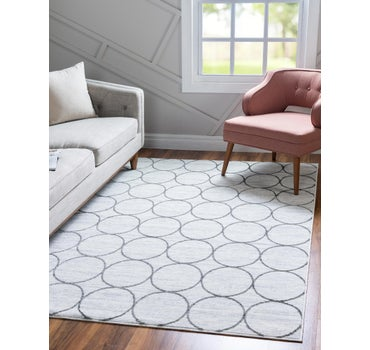 8' x 10' Lattice Trellis Rug main image
