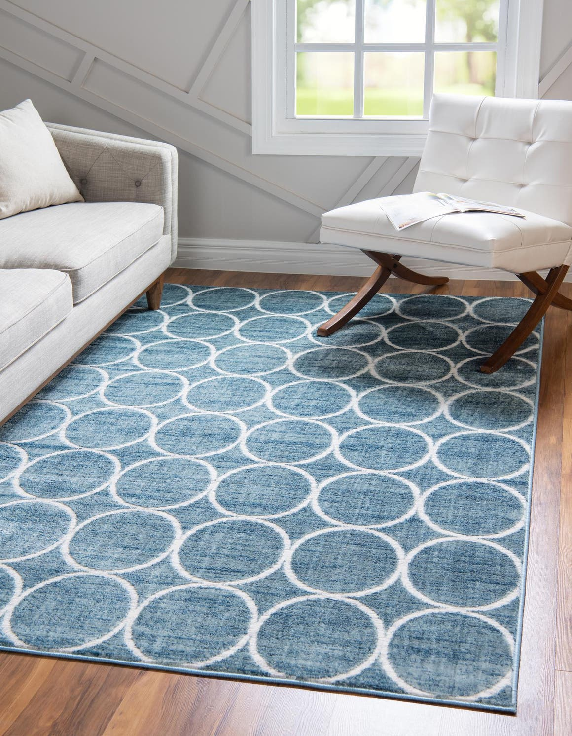 3' 3 x 5' 3 Lattice Trellis Rug main image