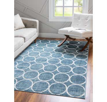 9' x 12' Lattice Trellis Rug