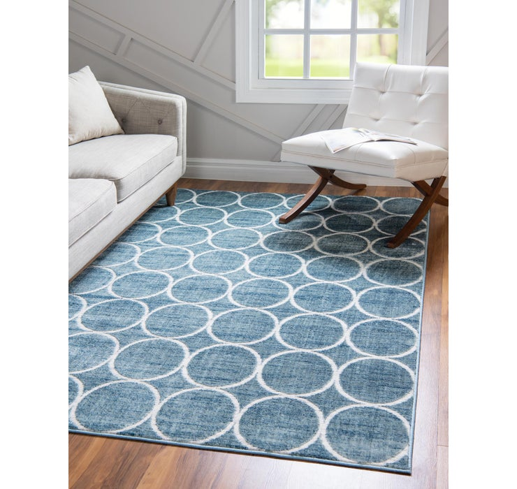 Image of 275cm x 365cm Lattice Trellis Rug