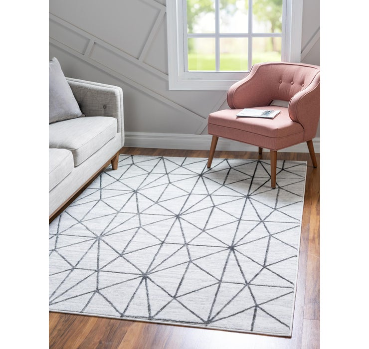 213cm x 305cm Lattice Trellis Rug