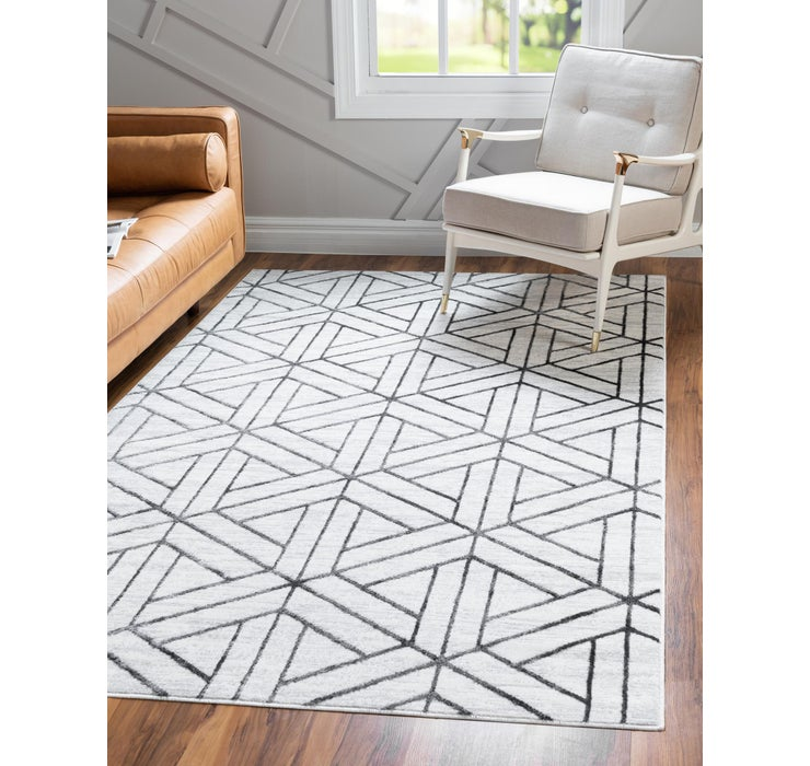 4' x 6' Lattice Trellis Rug