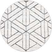 3' 3 x 3' 3 Lattice Trellis Round Rug thumbnail