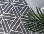 100cm x 160cm Lattice Trellis Rug thumbnail