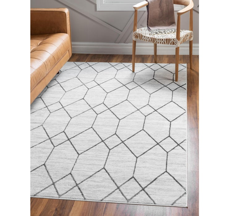 300cm x 427cm Lattice Trellis Rug