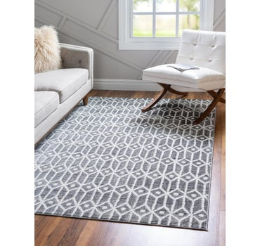 5' x 8' Lattice Trellis Rug main image