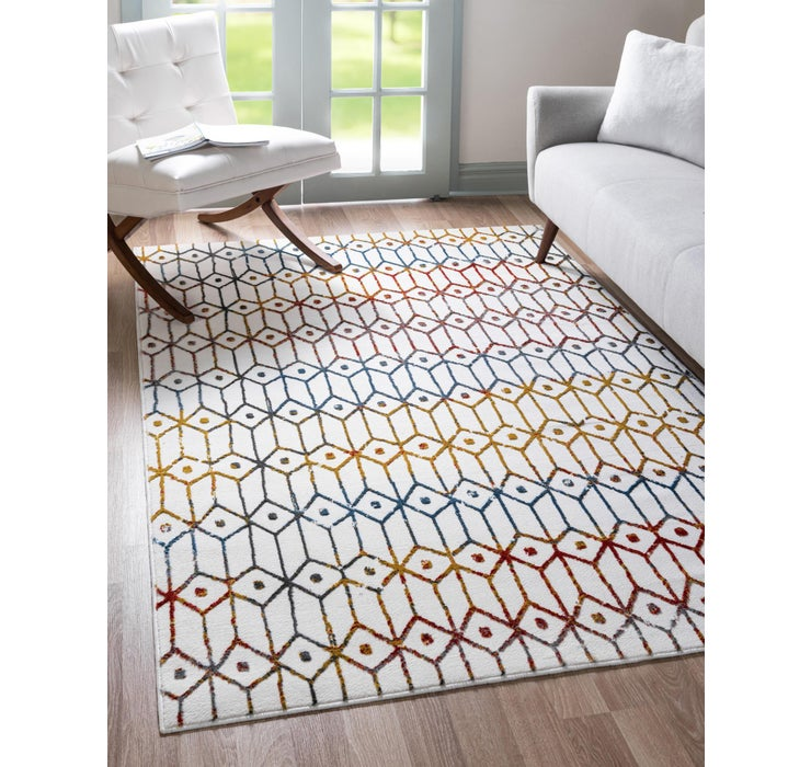 152cm x 245cm Lattice Trellis Rug