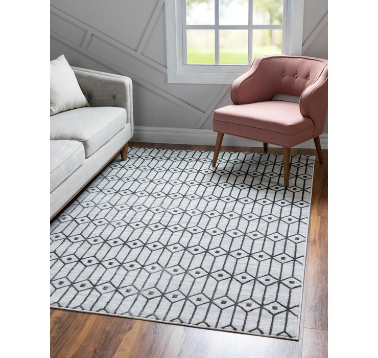 8' x 10' Lattice Trellis Rug