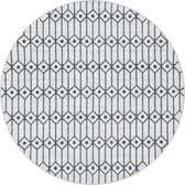 8' x 8' Lattice Trellis Round Rug thumbnail