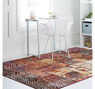 Image of  Rust Red Valencia Rug
