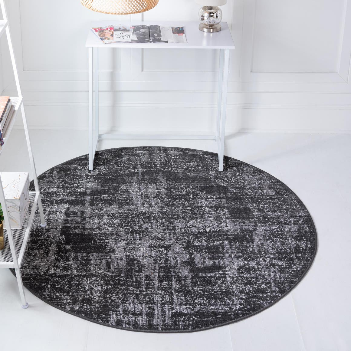 Dark Gray 245cm X Aarhus Round