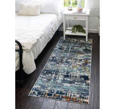 Image of  Dark Gray Malibu Runner Rug