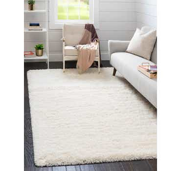 Image of  Pearl Infinity Shag Rug