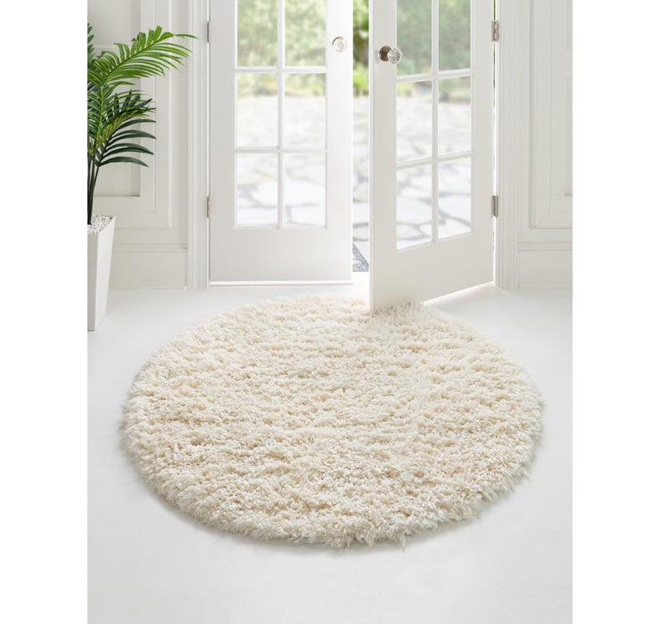 Image of  Pearl Infinity Shag Round Rug