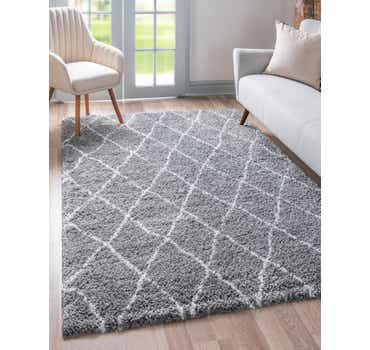 Image of 122cm x 183cm Marrakesh Shag Rug