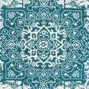 Link to Turquoise of this rug: SKU#3150253
