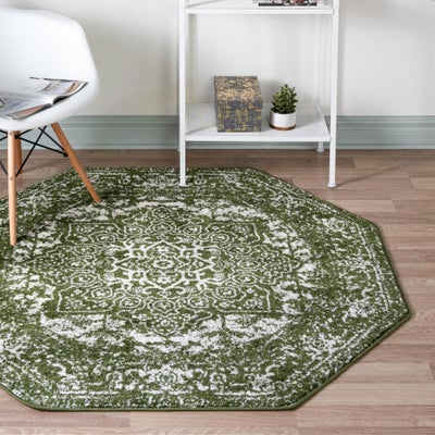 7 FT Octagon Rugs