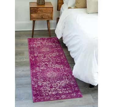 Image of  Purple Arlington Runner Rug