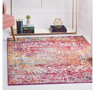 5' x 5' Arlington Square Rug main image
