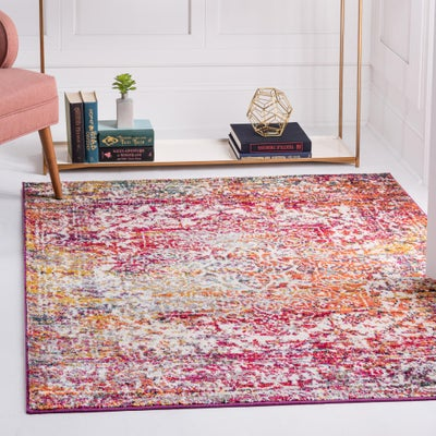 8 FT Square Rugs