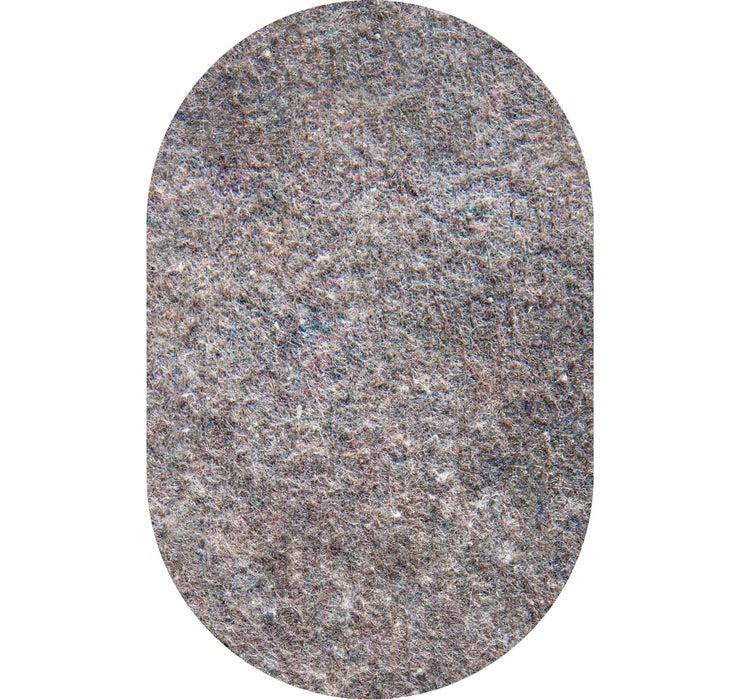 8' 0 x 10' 0 Oval Uni-Luxe Rug Pad