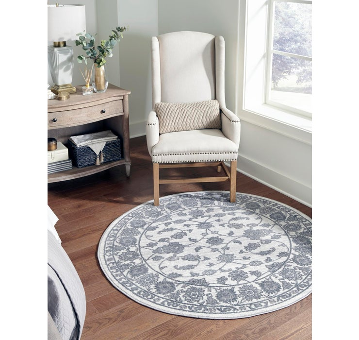 Image of 240cm x 240cm Boston Round Rug
