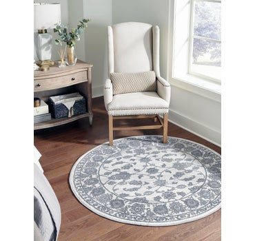 7' 10 x 7' 10 Boston Round Rug main image