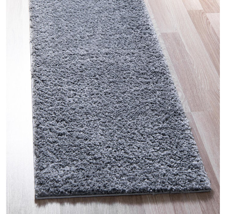 80cm x 395cm Soft Solid Shag Runner ...