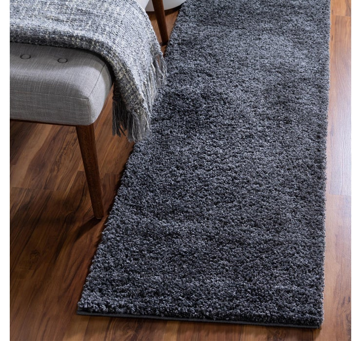 80cm x 305cm Soft Solid Shag Runner ...