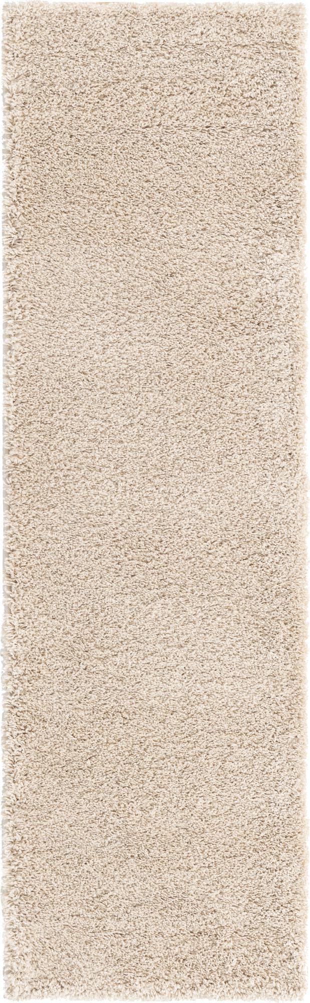 2' x 6' 7 Soft Solid Shag Runner Rug main image