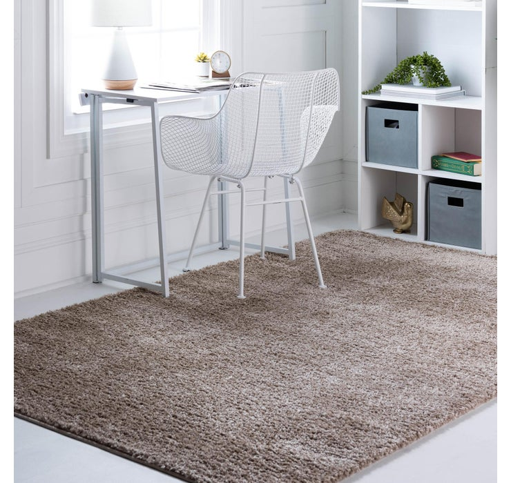 Image of 9' 10 x 13' Soft Solid Shag Rug