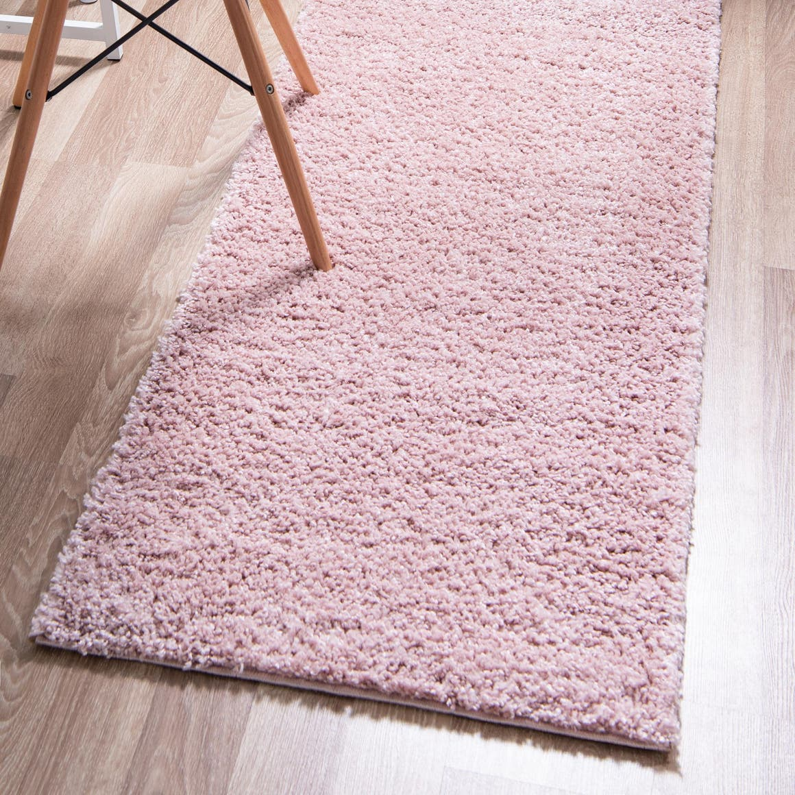 2' 7 x 13' Soft Solid Shag Runner Rug main image