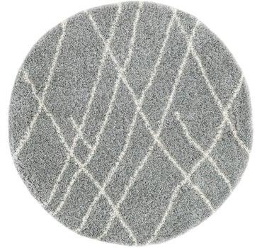 8' x 8' Soft Touch Shag Round Rug main image