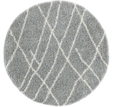 6' x 6' Soft Touch Shag Round Rug main image