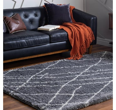 8' x 11' Soft Touch Shag Rug main image