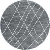 8' x 8' Soft Touch Shag Round Rug thumbnail