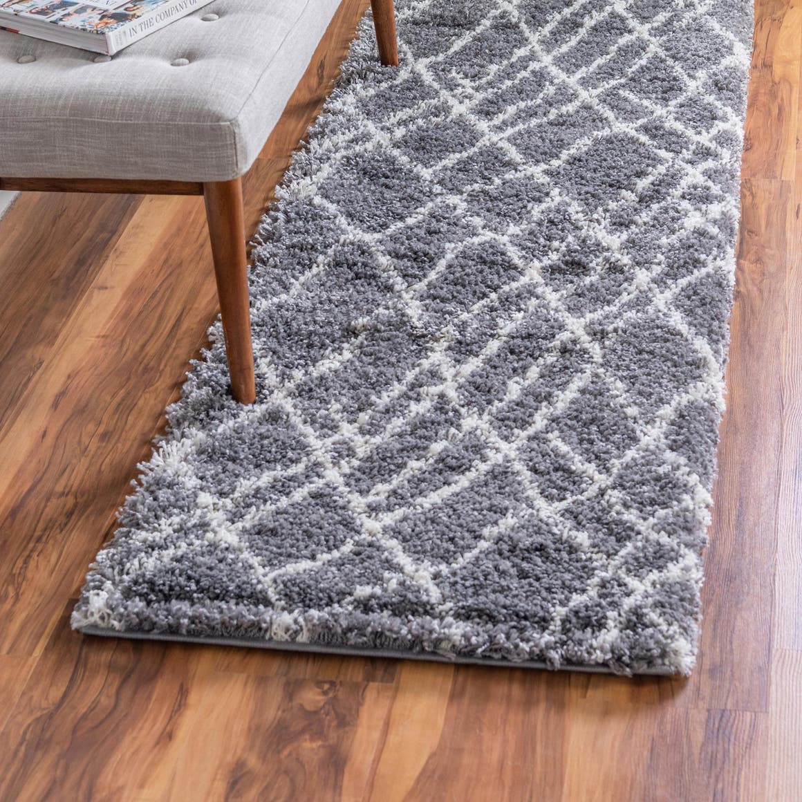 2' x 6' 7 Soft Touch Shag Runner Rug main image